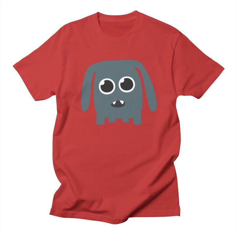 Monster Doggy Men's Regular T-Shirt by B