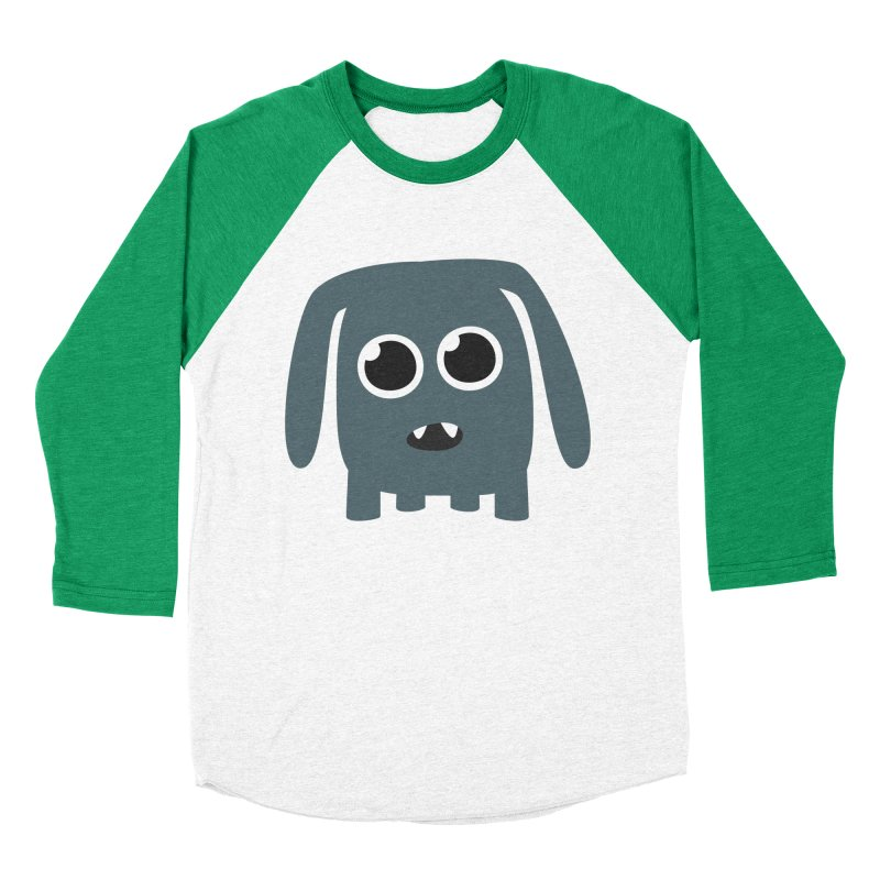Monster Doggy Women's Baseball Triblend Longsleeve T-Shirt by B