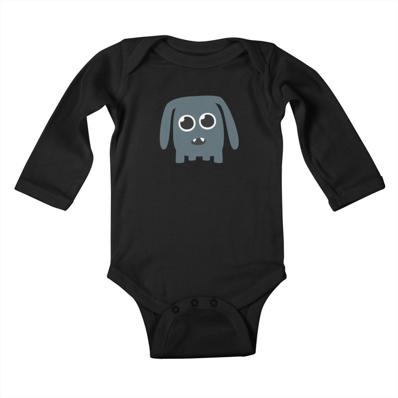 Monster Doggy Kids Baby Longsleeve Bodysuit by B