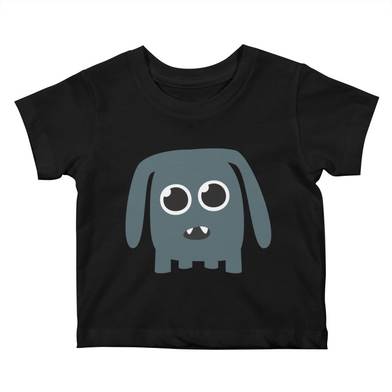 Monster Doggy Kids Baby T-Shirt by B