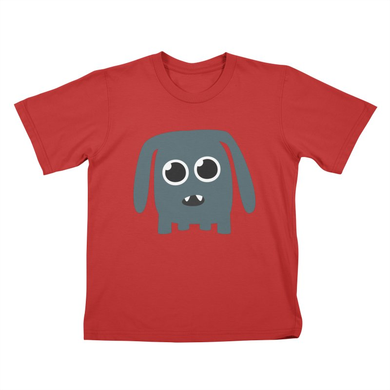 Monster Doggy Kids T-Shirt by B