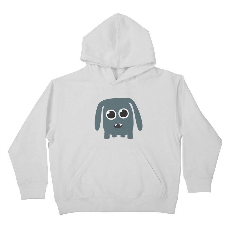 Monster Doggy Kids Pullover Hoody by B