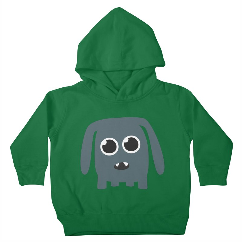 Monster Doggy Kids Toddler Pullover Hoody by B