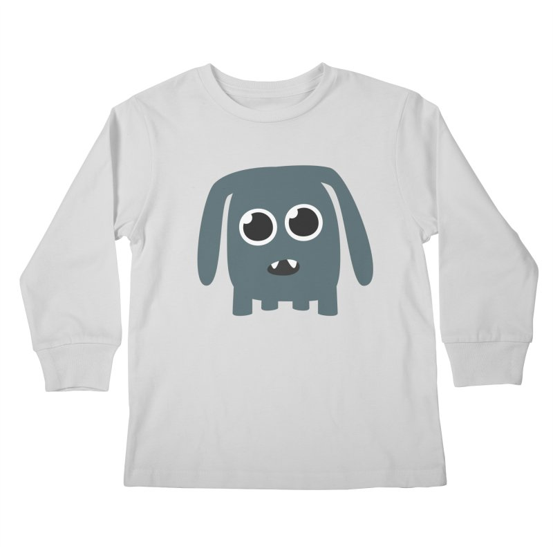 Monster Doggy Kids Longsleeve T-Shirt by B