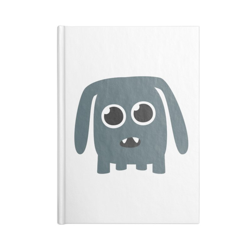 Monster Doggy Accessories Notebook by B