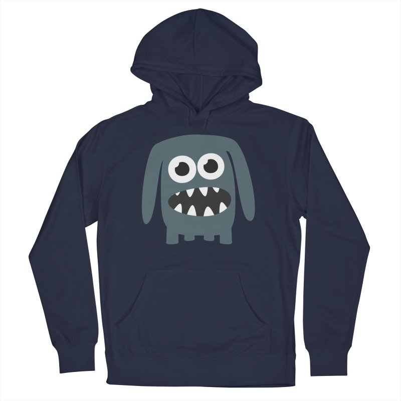 Monster Doggy 2 Women's French Terry Pullover Hoody by B