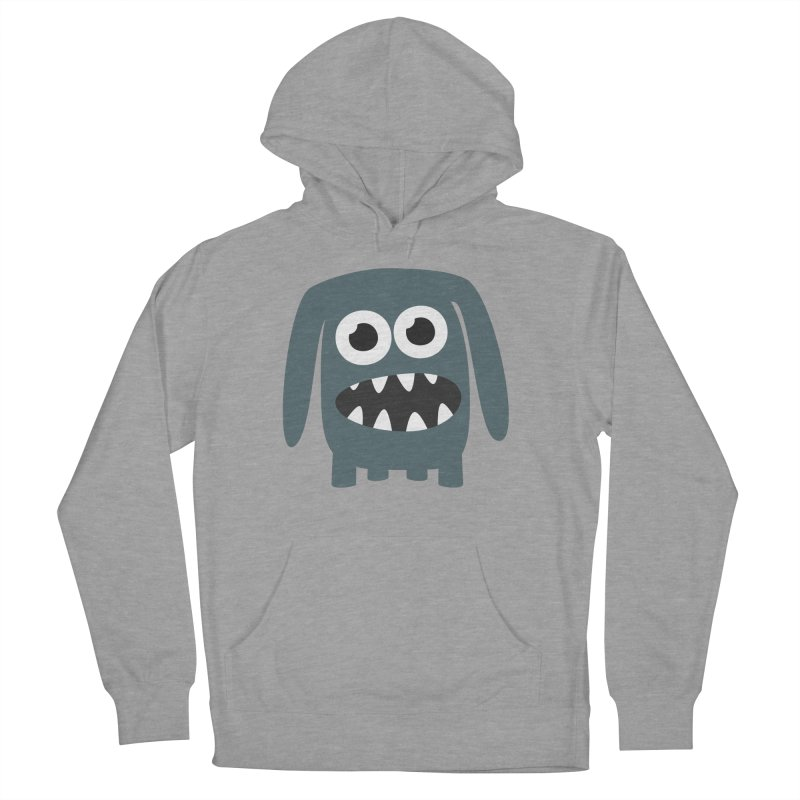 Monster Doggy 2 Men's French Terry Pullover Hoody by B