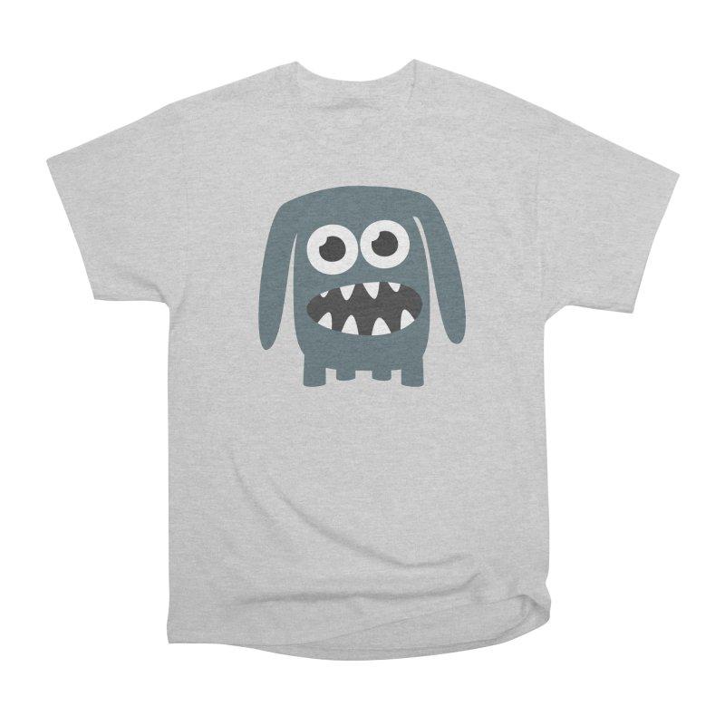 Monster Doggy 2 Men's Heavyweight T-Shirt by B
