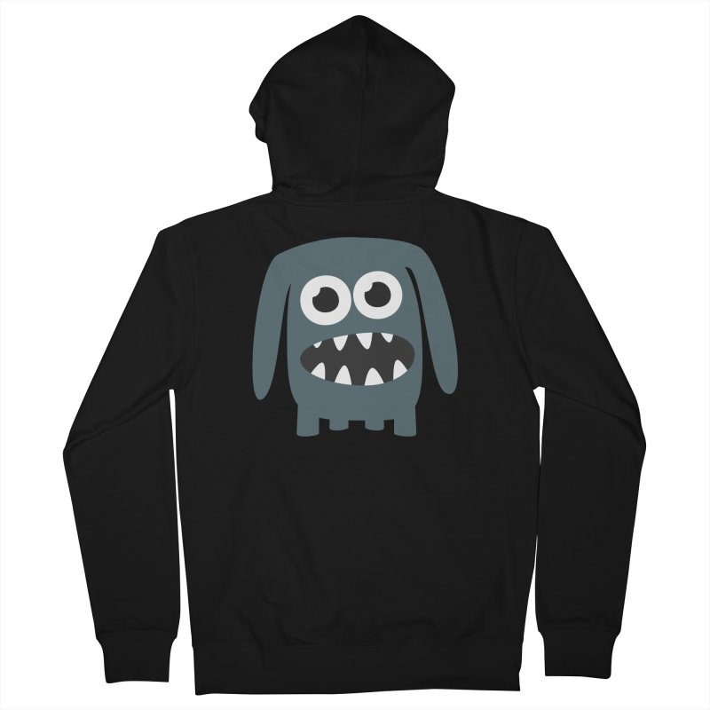 Monster Doggy 2 Women's French Terry Zip-Up Hoody by B