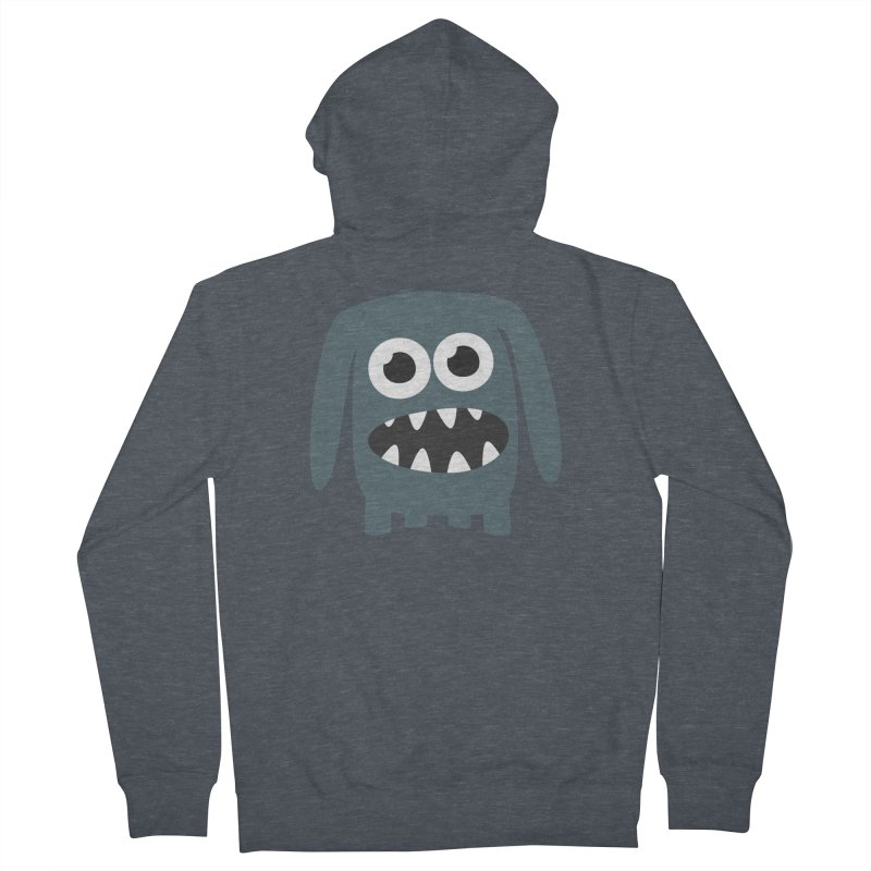 Monster Doggy 2 Men's French Terry Zip-Up Hoody by B