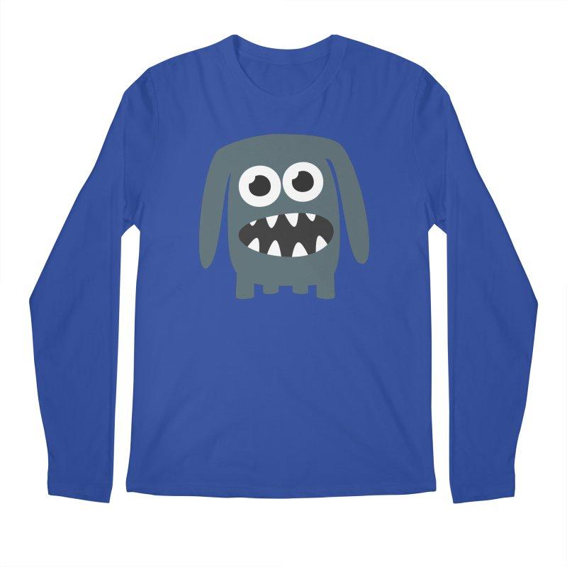Monster Doggy 2 Men's Regular Longsleeve T-Shirt by B
