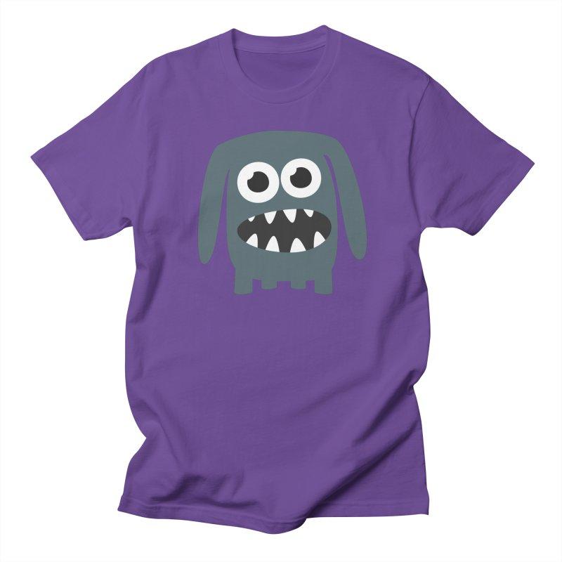 Monster Doggy 2 Men's Regular T-Shirt by B