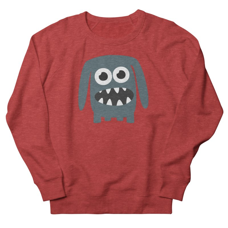 Monster Doggy 2 Women's French Terry Sweatshirt by B