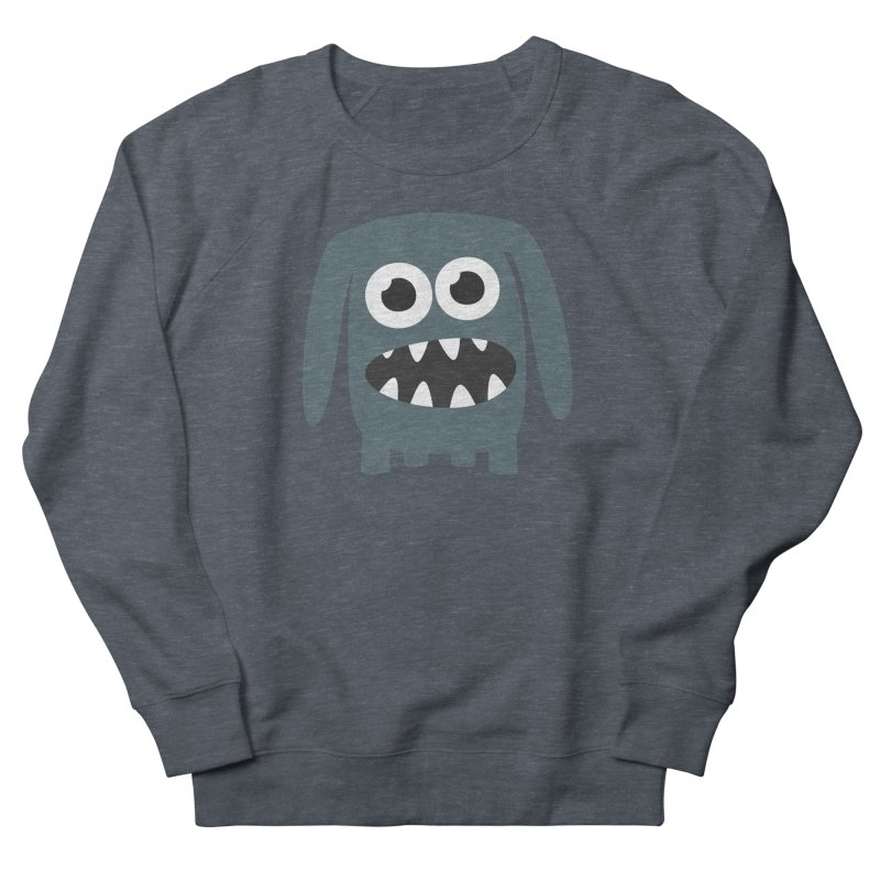 Monster Doggy 2 Men's French Terry Sweatshirt by B