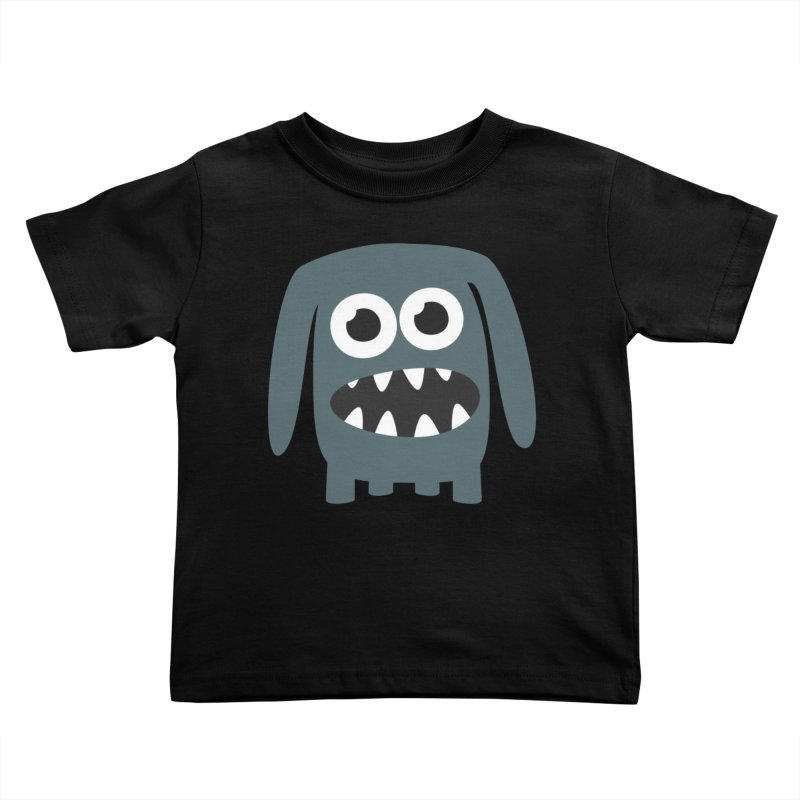 Monster Doggy 2 Kids Toddler T-Shirt by B
