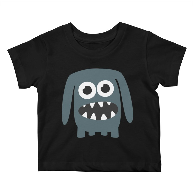 Monster Doggy 2 Kids Baby T-Shirt by B