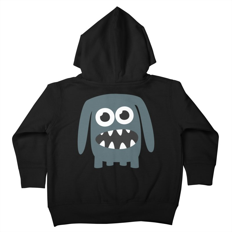 Monster Doggy 2 Kids Toddler Zip-Up Hoody by B