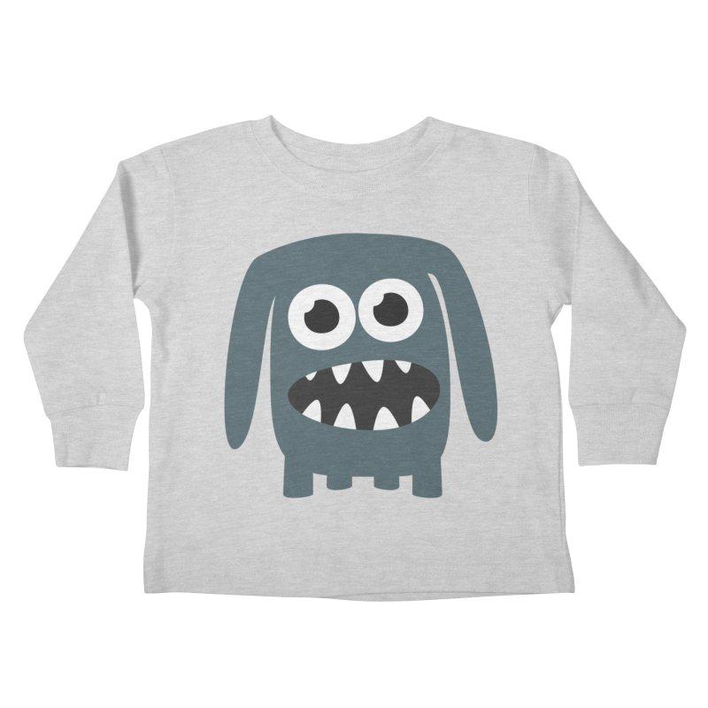 Monster Doggy 2 Kids Toddler Longsleeve T-Shirt by B