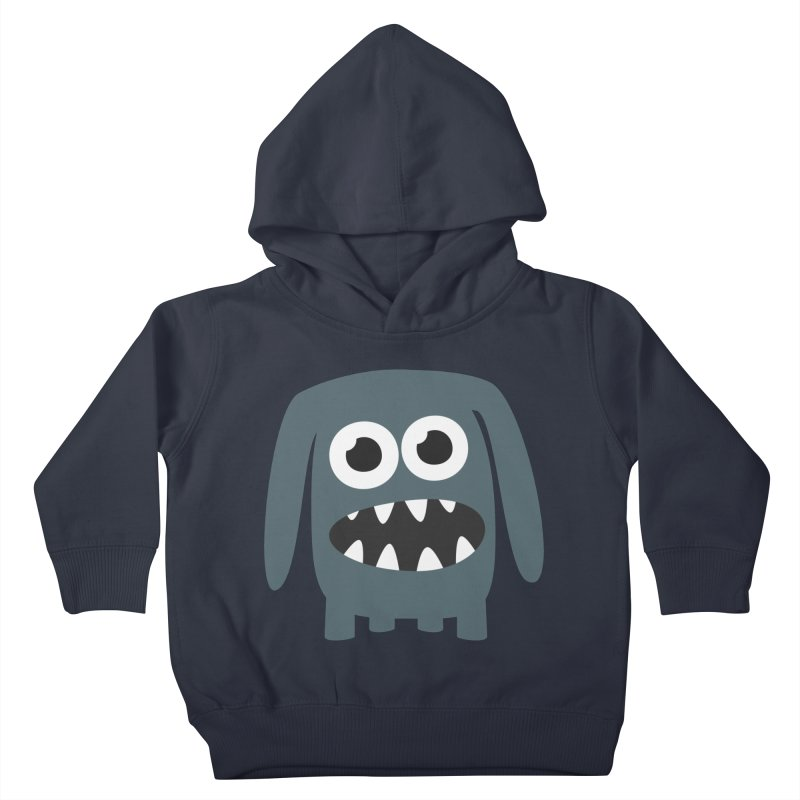 Monster Doggy 2 Kids Toddler Pullover Hoody by B