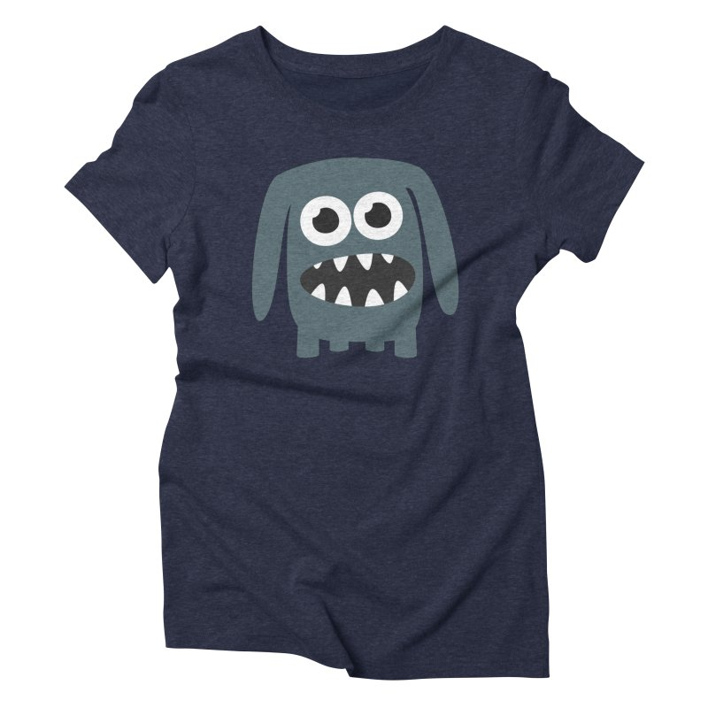 Monster Doggy 2 Women's Triblend T-Shirt by B