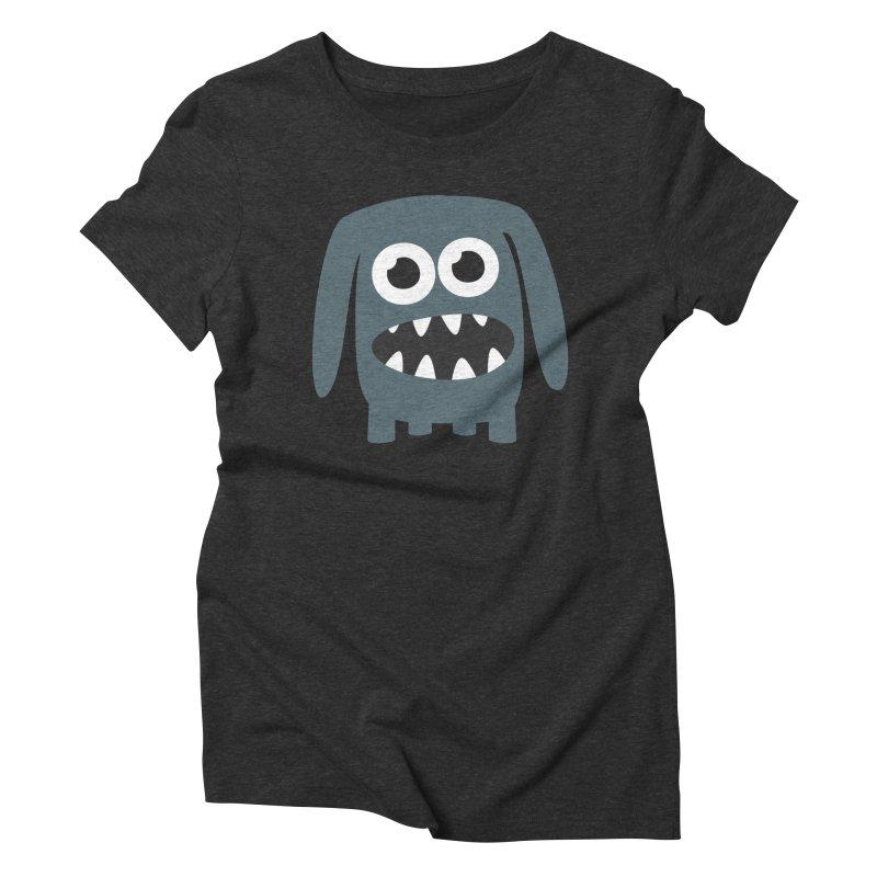 Monster Doggy 2 Women's Triblend T-Shirt by B