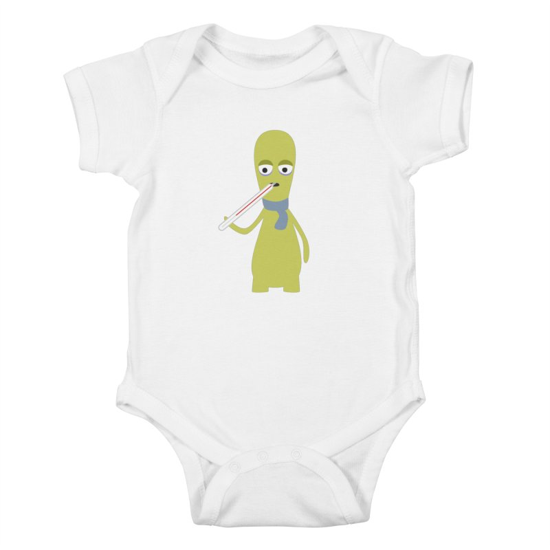 Ill and sick Kids Baby Bodysuit by B