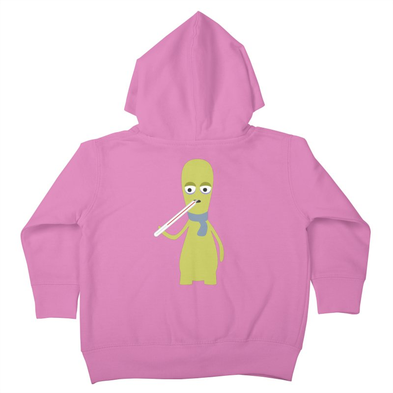 Ill and sick Kids Toddler Zip-Up Hoody by B