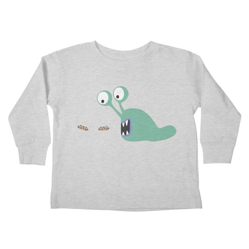 Hungry Kids Toddler Longsleeve T-Shirt by B