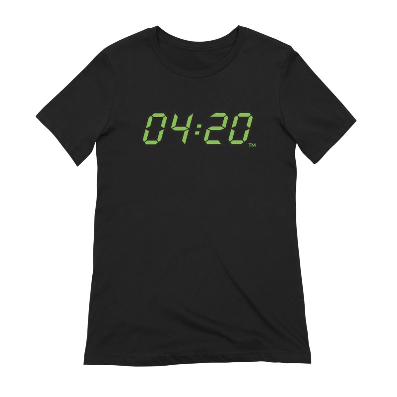 0420 Inc Official Merch in Women's Extra Soft T-Shirt Black by 0420inc's Artist Shop