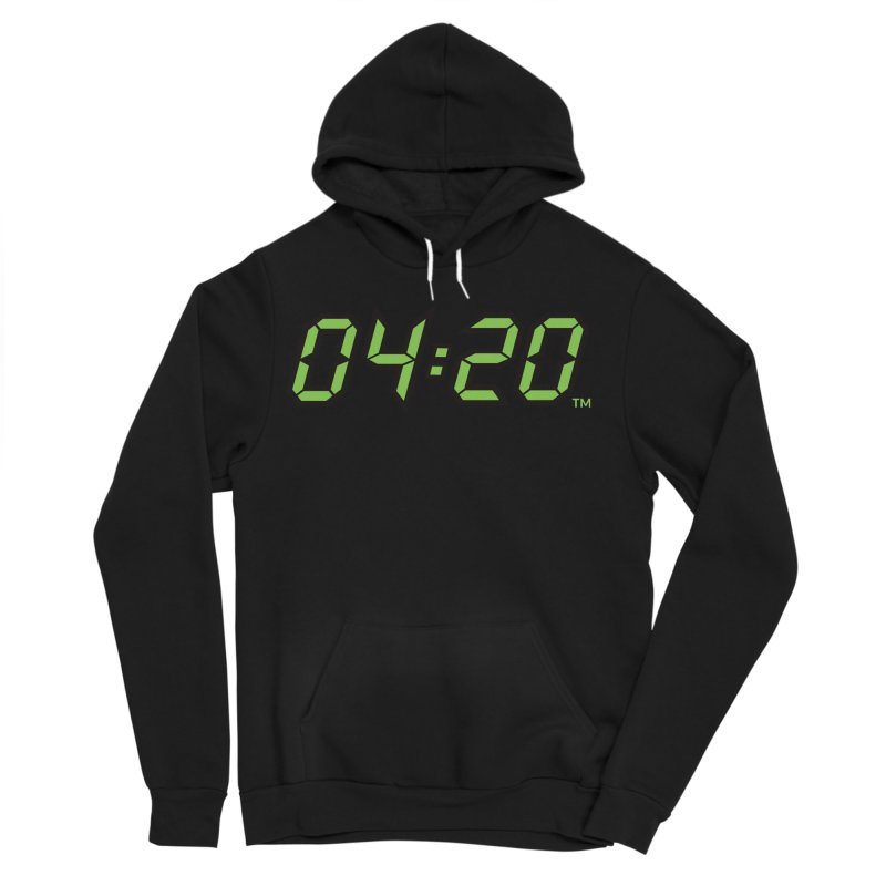 0420 Inc Official Merch in Men's Sponge Fleece Pullover Hoody Black by 0420inc's Artist Shop