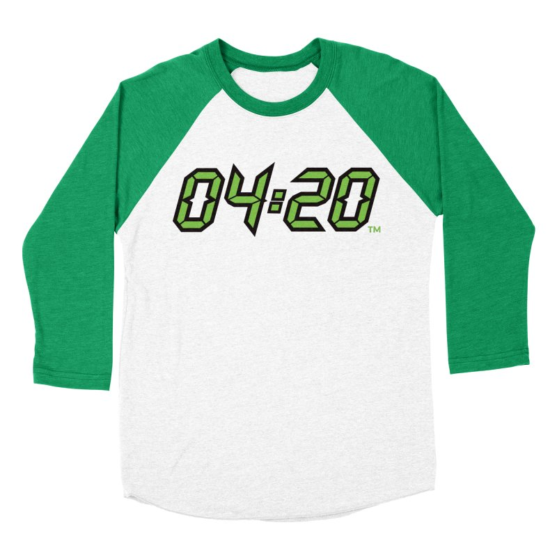 0420 Inc Official Merch in Men's Baseball Triblend Longsleeve T-Shirt Tri-Kelly Sleeves by 0420inc's Artist Shop