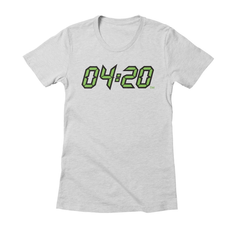 0420 Inc Official Merch in Women's Fitted T-Shirt Heather Grey by 0420inc's Artist Shop