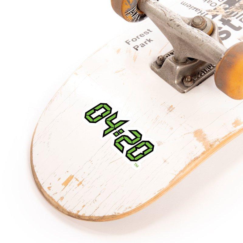 0420 Inc Official Merch Accessories Sticker by 0420inc's Artist Shop