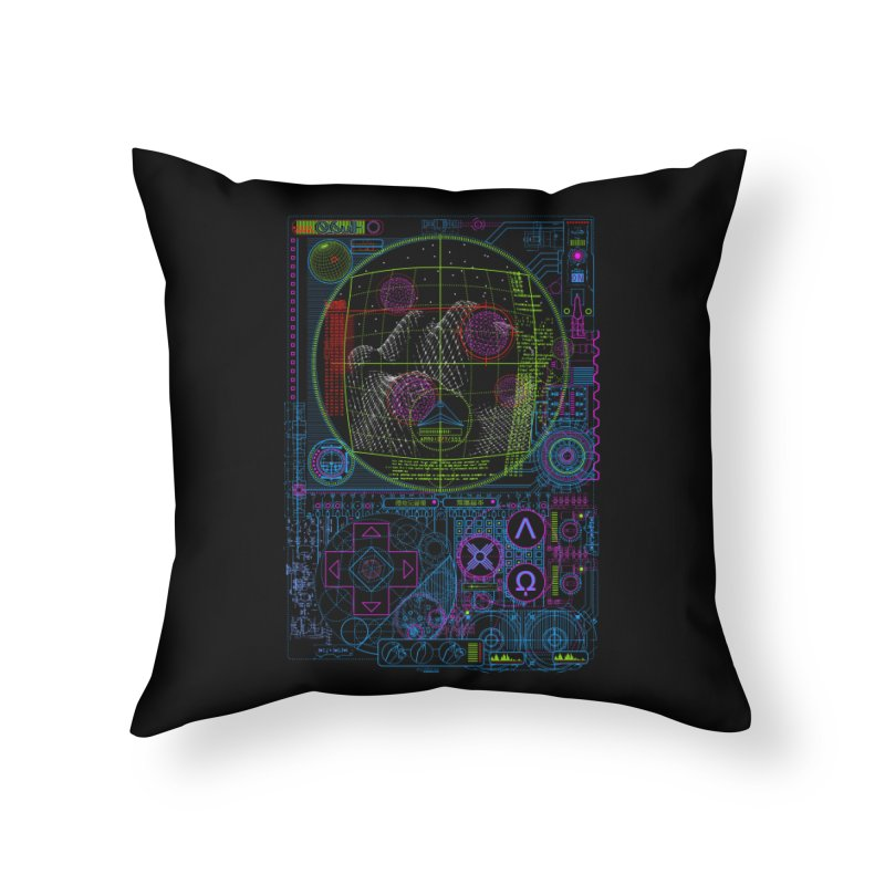 Hitech Analog Gaming Home Throw Pillow by 0_cult's Artist Shop