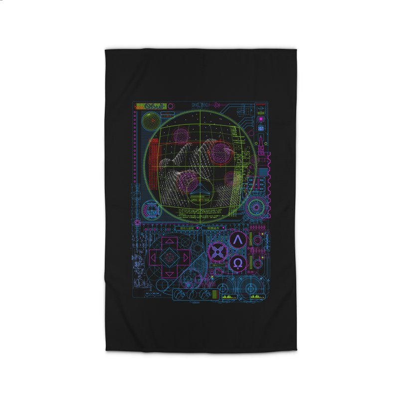 Hitech Analog Gaming Home Rug by 0_cult's Artist Shop