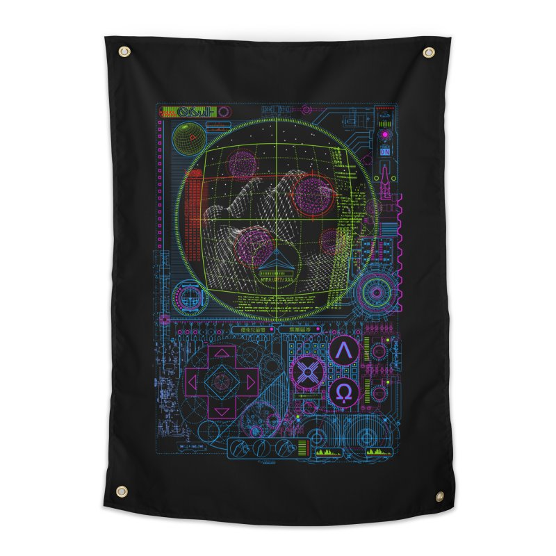 Hitech Analog Gaming Home Tapestry by 0_cult's Artist Shop