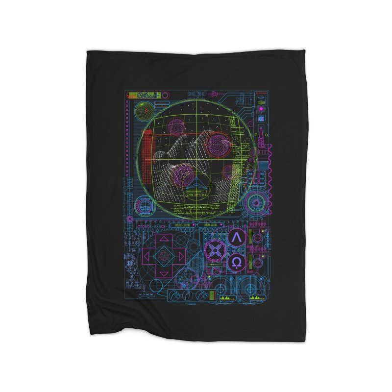Hitech Analog Gaming Home Blanket by 0_cult's Artist Shop