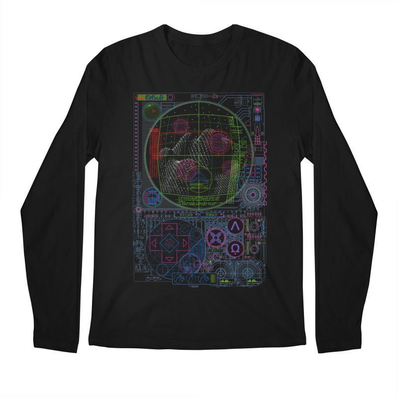 Hitech Analog Gaming Men's Longsleeve T-Shirt by 0_cult's Artist Shop