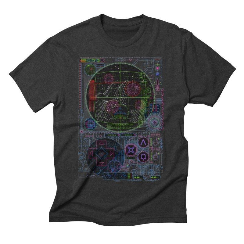 Hitech Analog Gaming Men's Triblend T-Shirt by 0_cult's Artist Shop