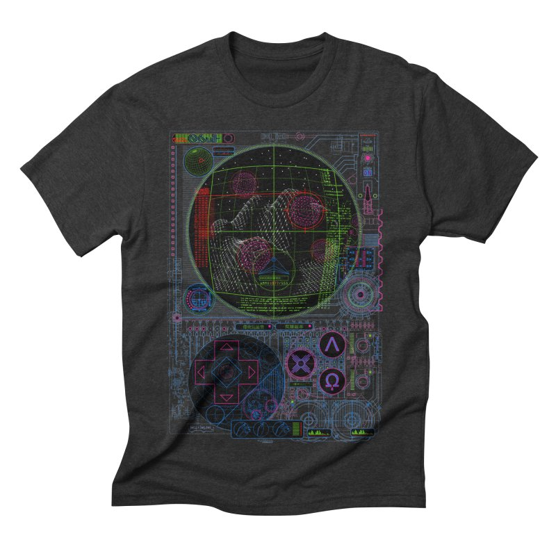 Hitech Analog Gaming Men's Triblend T-shirt by 0_cult's Artist Shop