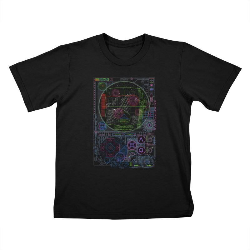 Hitech Analog Gaming Kids T-shirt by 0_cult's Artist Shop