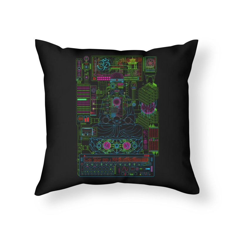 Faith.exe Home Throw Pillow by 0_cult's Artist Shop