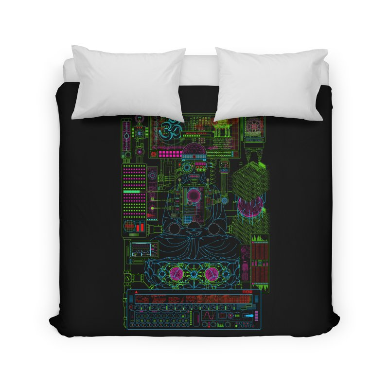 Faith.exe Home Duvet by 0_cult's Artist Shop