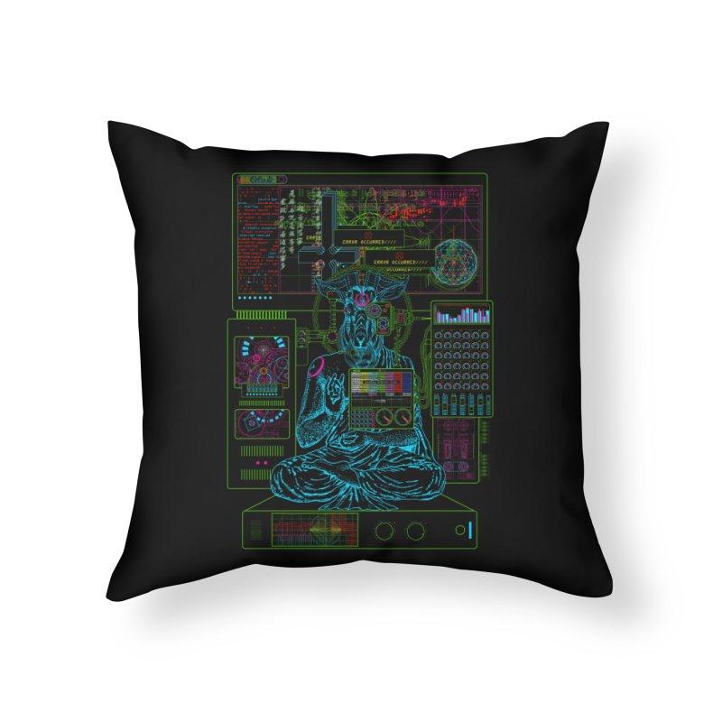 faith6.66.exe Home Throw Pillow by 0_cult's Artist Shop
