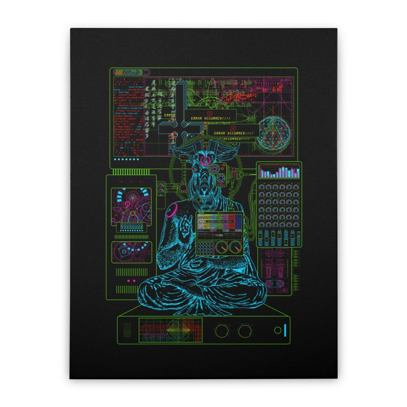 faith6.66.exe Home Stretched Canvas by 0_cult's Artist Shop