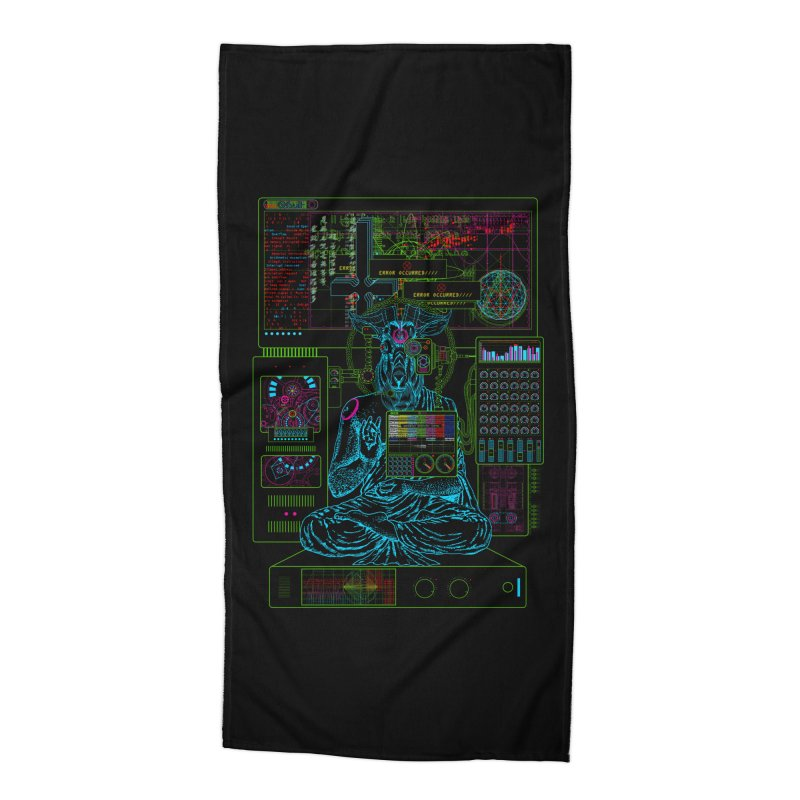 faith6.66.exe Accessories Beach Towel by 0_cult's Artist Shop