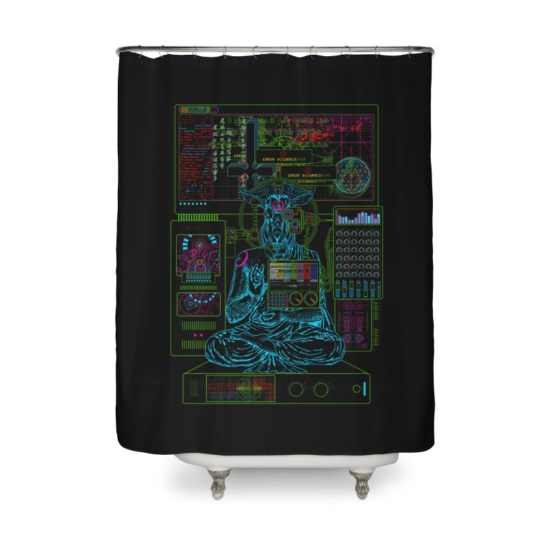 faith6.66.exe Home Shower Curtain by 0_cult's Artist Shop