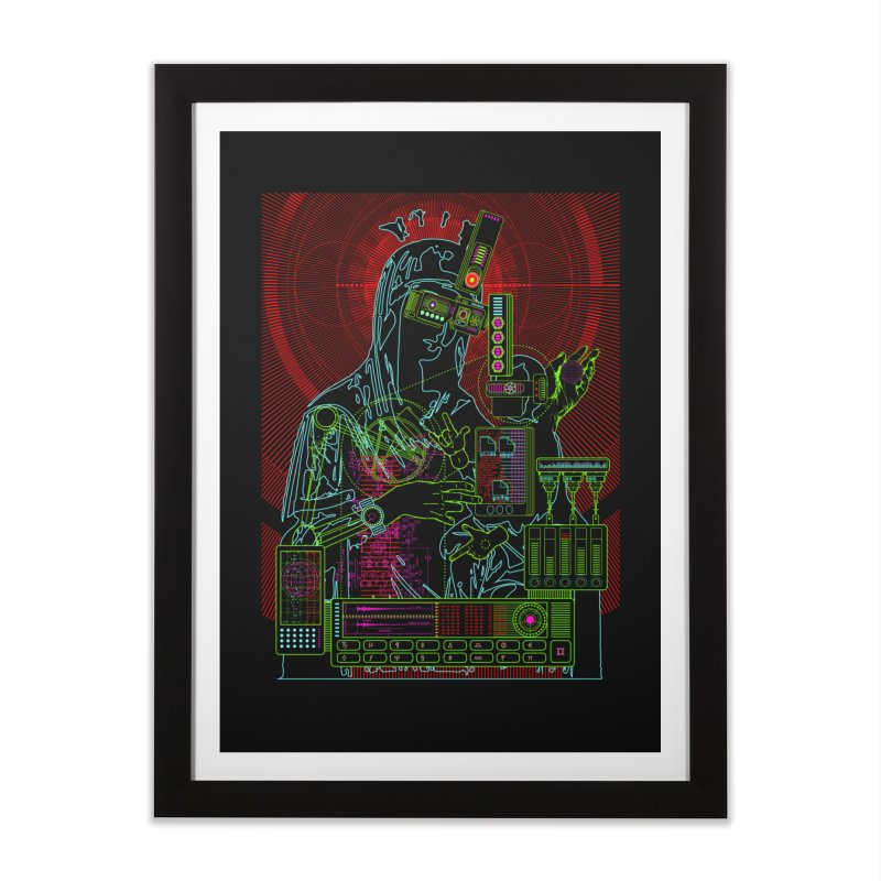 faith20.7.exe Home Framed Fine Art Print by 0_cult's Artist Shop
