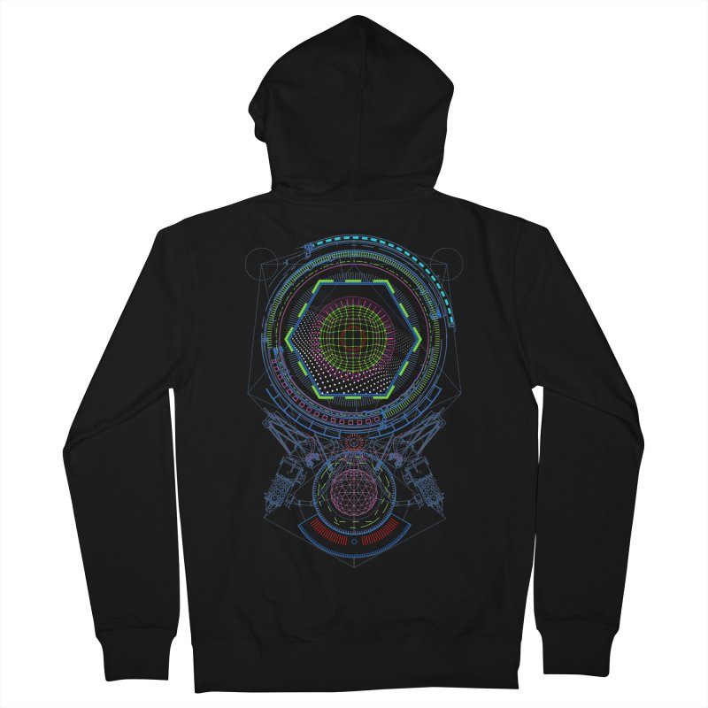 Android Cell Isolator 7750 Men's Zip-Up Hoody by 0_cult's Artist Shop