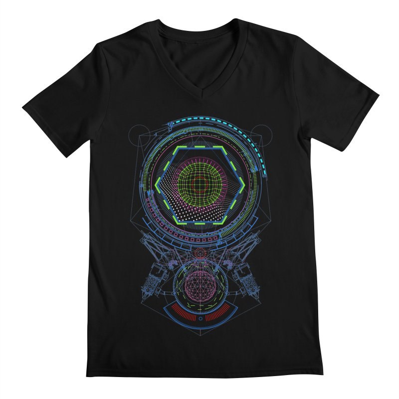 Android Cell Isolator 7750 Men's V-Neck by 0_cult's Artist Shop